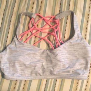 free to be sports bra size 8!